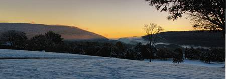 Bolivar Heights at Sunrise