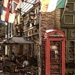 """Telephone Booth 3"" by GColeman"