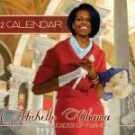 """michelle obama 2012 Calendar"" by vintagenblack"
