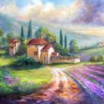 """""""Lilac Fields"""" by Unique_designs"""