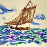"""Boat Alof"" by Aaron_Guthrie"
