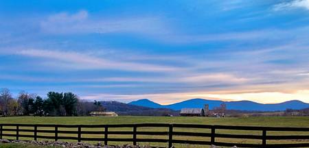 The Blueridge Foothills @ Dusk