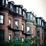 """Brownstones in The South End, Boston"" by BonVivantPhotography"