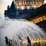 """Running in the fountain, Boston"" by BonVivantPhotography"