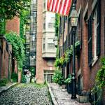 """Acorn Street, Beacon Hill"" by BonVivantPhotography"