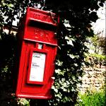 """post box"" by hardman"
