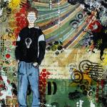 """Ethan Inspirational Boys art by Janelle Nichol"" by JanelleNichol"