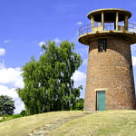 """Tower Windmill at Staunton Harold Reservoir (29521"" by rodjohnson"