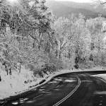 """Winter Road in rural Virginia"" by BrendanReals"