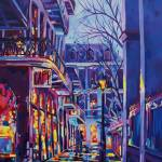 """Evening at Pirates Alley Cafe"" by neworleansartist"