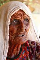 Old Woman in Village