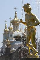 Grand Cascade fountain of Peterhof Palace