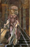 Medea, 1889 (pastel on paper) by Evelyn De Morgan