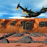"""""""Dragon Queen Departs Inannas Olympus Mons Site 1"""" by Gammagiddo"""