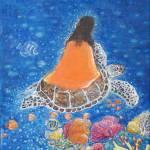 """Painting of Paramhansa Yogananda - Make Me the Sea"" by ArtSamadhi"