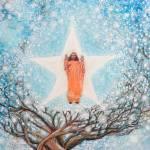 """Painting of Paramhansa Yogananda - Mist"" by ArtSamadhi"