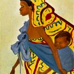 """African Mother and Child"" by shernasser"
