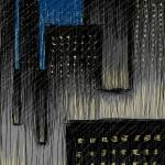 """Rainy City at Night"" by jimhubel"