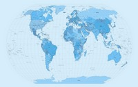 World Map Blues