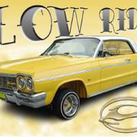 Low Rider Impala Art Prints & Posters by Poster Art by Gregory Blanton