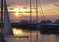 Harbor at Sunset_1