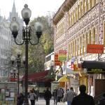 """Pedestrian street Arbat in Moscow"" by igorsin"