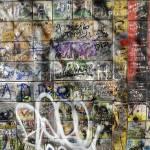"""A wall with graffiti"" by igorsin"