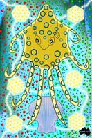 "Aboriginal Art ""Blue Ring Octopus"""