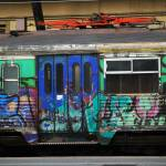 """Graffiti Train"" by raetucker"