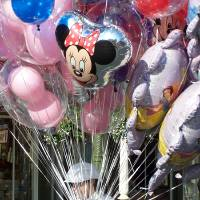 Happiest Place on Earth Balloons Art Prints & Posters by Kayla Campana