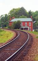 Jonesborough, Tennessee - Curved Train Tracks
