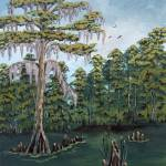 """Louisiana Cypress"" by SuzanneTheisArt"