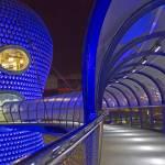 """Birmingham Bullring: Pedestrian Bridge"" by plantaen"