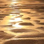"""Golden Sands Beach Abstract"" by RoupenBaker"