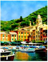 Brilliant Harbor of Portofino, Italy
