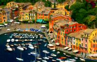 The romance and beauty Portofino Italy