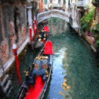 Canal Impressions in Venice, Italy Art Prints & Posters by Mary Whitmer
