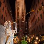 """Merry Christmas from Rockefeller Center!"" by woolleybear"