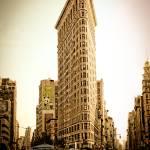 """Flatiron Building, New York City"" by woolleybear"