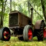 """""""Old Tractor"""" by woolleybear"""