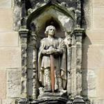 """Figure of St Wystan above Porch Door (28112-RDA)"" by rodjohnson"