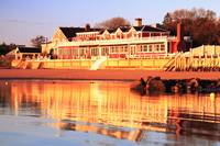 Red Inn and Water Reflections, Provincetown MA