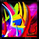 """Graffiti Wall Section"" by iPhonePhil"