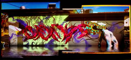 Graffiti Art wall