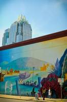 Frost Tower with Austin Mural
