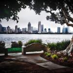 """""""San Diego from Coronado Island"""" by dennisherzog"""
