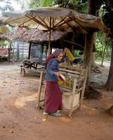 Buying Petrol inside the Temple-City of Angkor