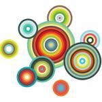 """Happy circles"" by nomi"
