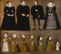 Group portrait of a family
