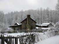 Pioneer Farm in Winter